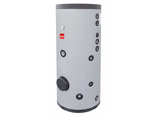 STORAGE cylinder for domestic hot water